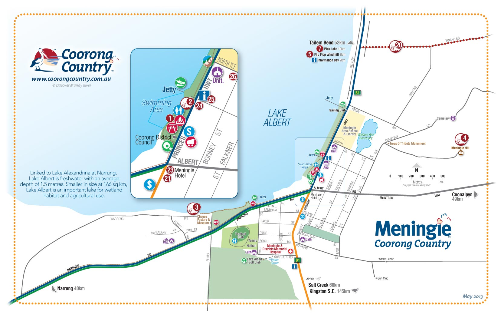 Meningie Australia  City new picture : Coorong Country and Meningie Maps, South Australia