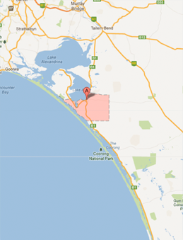 Coorong Maps