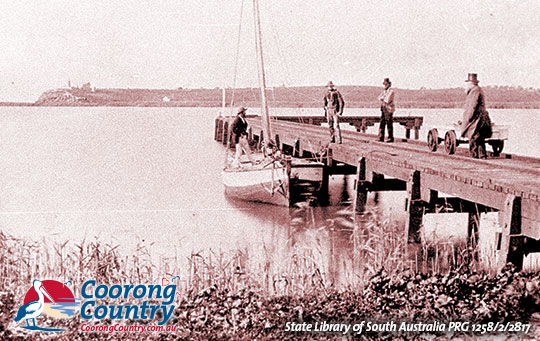 Narrung Jetty 1890