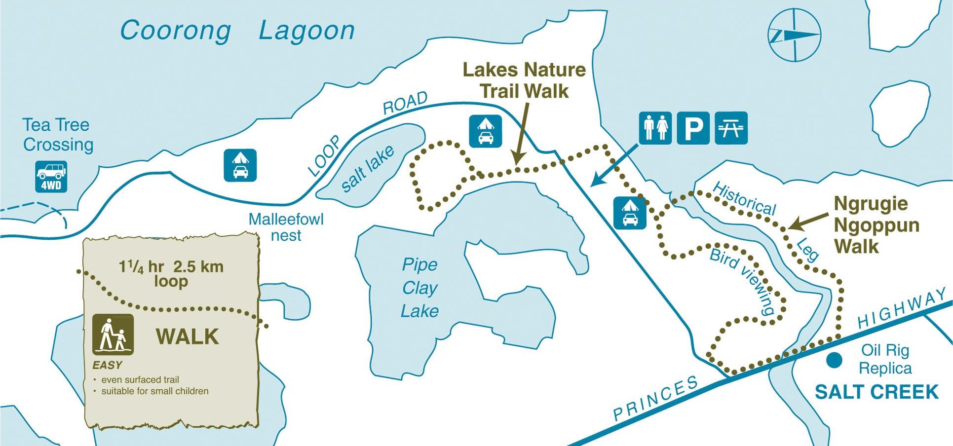 Coorong Walking Trails & Tracks, South Australia
