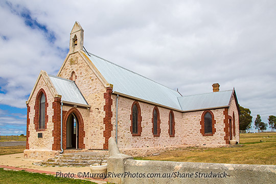 Raukkan Church Coorong Country