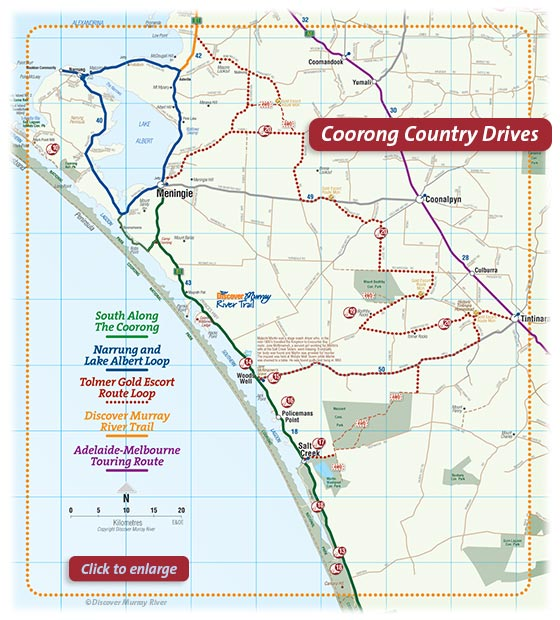 Coorong Country Drives